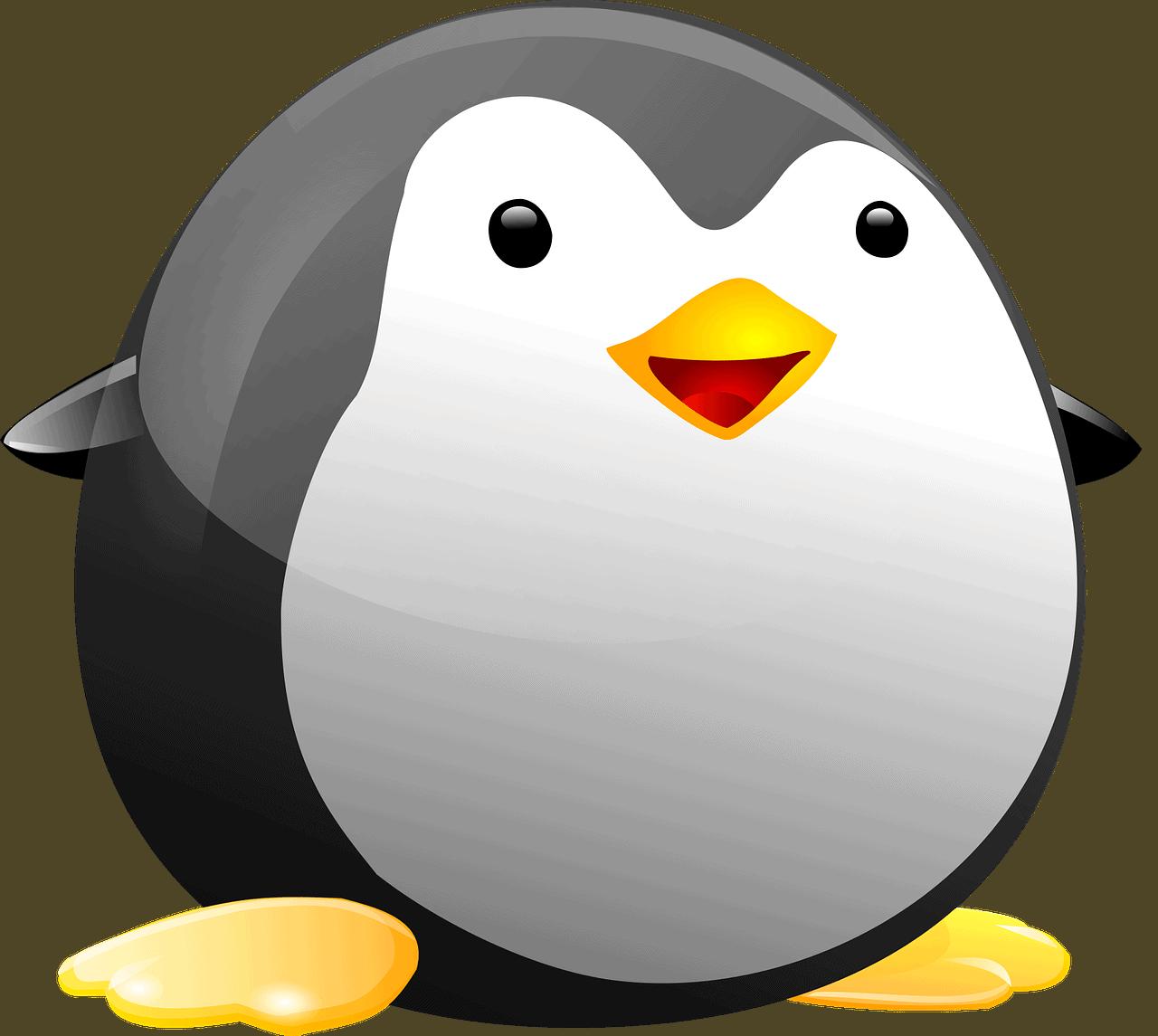 Black Linux Penguin Tiny Tux  - OpenClipart-Vectors / Pixabay